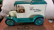 Co-op Farm Store And More Die Cast Coin Bank Ford Model T Van 1913 Co Op Ertl