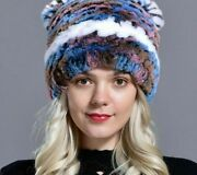 Natural Fur Winter Warm Hats For Ladies Top Graded Quality Casual Head-wears New