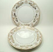 Classique Gold 3672 By Harmony House Fine China Japan 1 Dinner Plate + 1 Free