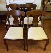 4 Vtg/antique Pennsylvania House Dining Chairs