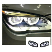 For Bmw 7 Series 740 Led Headlights Led Drl 08-15 Replace Oem Halogen Sequential