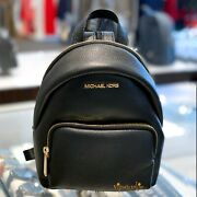 Erin Small Convertible Backpack Leather Black