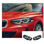 For Bmw 1 Series F52 Led Headlights Led Drl 16-20 Replace Oem Halogen Sequential
