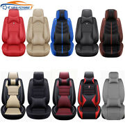 5-sits Car Seat Cover Interior Comfort Leather Cushion Auto Suv Set Accessories
