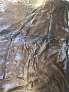 Dubuque Tanning And Robe Co. Horse Hide 1800s Carriage Blanket