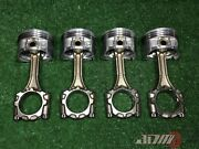 Toyota 3sgte Pistons And Connecting Rods = 2002-2005 Caldina St246 13201-79417