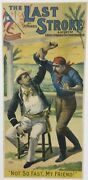 The Last Stroke - A Story Of Cuba's Struggle For Independence- Rare 1896 Poster