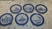 Spode Boston Collection Shreve Crump And Low Set Of 6