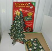 Vintage Checkerbee Americaandrsquos Christmas Tree Quarters Of The Fifty States