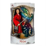 Mulan Limited Edition Doll Live Action Film 17'' 1 Of 3,400 New