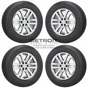 18 Gmc Canyon Pvd Bright Chrome Wheels Rims And Tires Oem Set 4 2015-2020 5694