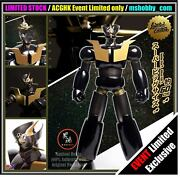In Stock Authentic Zcwo Mazinger Z 60cm Black X Gold Limited Exclusive Figure