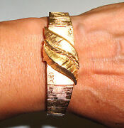 Retro Vintage 14k Gold Covered Watch Ru Bros Battery Movement 1964 39 Gr