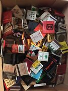 Vintage Unused Matchbook Collection Mostly Chicago Jim Mcmahon Bears Como Inn...