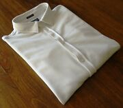 Woolrich Size S/12 Women's Polo Shirts Long Sleeve White