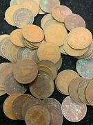 Huge Hoard Of Nearly 5000 British Honduras Large Cents-teens To 1951