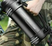 Thermos Water Bottle Stainless Steel Outdoor Double Wall Insulated Vacuum Flask