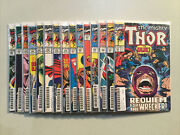 The Mighty Thor S Lot Of 15 Books S 341-445 Marvel Comics Hop4