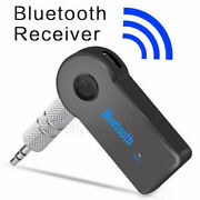 Portable Bluetooth Wireless Audio Receiver Car 3.5mm Aux Stereo Music Adapter