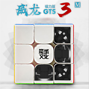 Us Ship Moyu Weilong Gts3lm/gts3m 3x3x3 Puzzle Magic Cube Magnetic Cube Toy