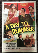 Day To Remember 1sh '55 Stanley Holloway, Odile Versois, Donald Sinden