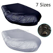 Premium Waterproof Anti-uv Inflatable Boat Tender Dinghy Cover Outdoor 7 Sizes