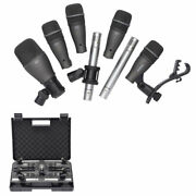 Samson Dk707 7-piece Drum Microphone Kit With Carry Case