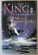 Song Of Susannah The Dark Tower 6 By Stephen King Hc Grant First Edition
