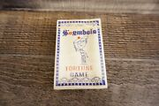 Vintage Snymbols Fortune Game Cards New And Sealed 1963 Tarot Card Set Rare And Htf