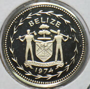 Belize 1974 5 Cents Fork-tailed Flycatcher Animal Proof 192826 Combine Shipping