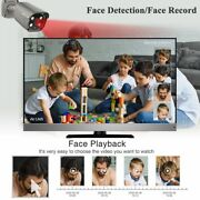 Ip Camera Water Resistant Two Way Audio Ai Face Detect Security Surveillance Set