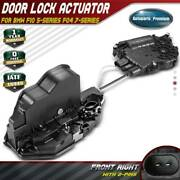 Door Lock Actuator For Bmw F10 528i F01 740i 750i M5 W/ Soft Close Front Right