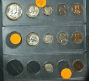 1955 Us Mint Set In Plastic Holders Brilliant Uncirculated Toned 11 Coins Total