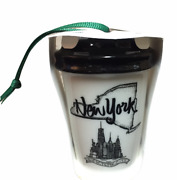 Starbucks New York Christmas Ornament To Go Cup 2017 Local State Collection
