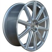 4 G42 22 Inch Silver Rimss Fits Nissan Rogue 2013