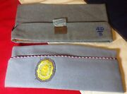 Lot Of 2 Vintage Forty And Eight Sons Of American Legion Garrison Hat W/ Medal