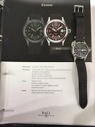 New Authentic Ball Fireman Racer Nm2088c 40mm S/s Box/papers
