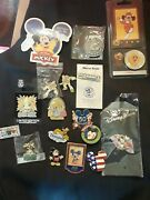 Disney Coins And Collectible Pins Lot
