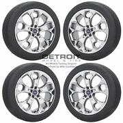 19 Ford Escape Pvd Bright Chrome Wheels Rims And Tires Oem Set 4 2013-2019 3947