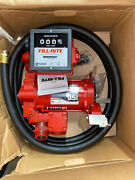 Fill-rite Fr311vb 115/230v 35 Gpm Fuel Transfer Pump With Discharge Hose