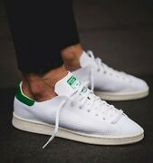 Adidas Originals Stan Smith Primeknit Men Shoes White Green See 2nd Pic