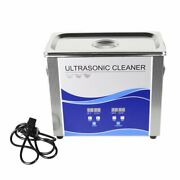 2l Ultrasonic Cleaner W/ Heating Bath For Metal/dental Tool/watches/coin Useful