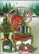6 X Musical Christmas Cards 3d Play Xmas Jingles When Opened Red Led 20 Cmx14 Cm