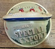 Heilemanand039s Special Export Beer Back Bar Chalk Sign 11-3/4 Round Us Ship Globe