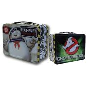 Ghostbusters - Stay Puft Marshmallow Man Large Tin Tote / Metal Lunch Box