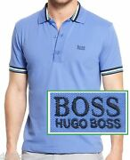 Nwt Hugo Boss Green Label By Hugo Boss Active Stretch Slim Fit Polo Shirt Size S