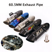 38-60mm Exhaust System Muffler Pipe Removable Db Killer For Universal Motorcycle