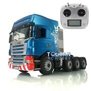 Lesu 1/14 Hercules Cabin Radio Metal Chassis Rc Scania 88 Tractor Truck Sound