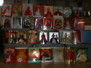 Holiday Barbie Collection 1988-2017 Unopened In Original Packaging.. 30 Dolls