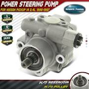 Power Steering Pump W/o Pulley For Nissan Pickup L4 2.4l 1996-1997 49110-8b000